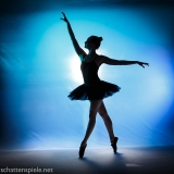 ballett in blue